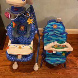 Aquarium Swing And Bouncer for Sale in Dallas,  TX