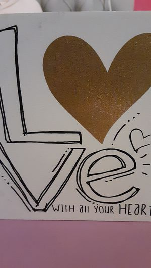 LOVE room decor for Sale in Pawtucket, RI