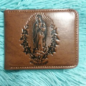 Wallet Guadalupe design with zipper for Sale in Chicago, IL