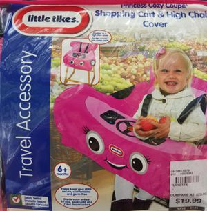 Cart and high chair cover for Sale in Tampa, FL