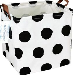 Dotted Print Waterproof Storage Hamper for Kids Laundry and Toys for Sale in Brea,  CA