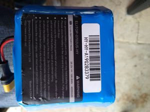 FOUR - 25.2v lithium ion rechargeable hoverboard battery for Sale in Austin, TX