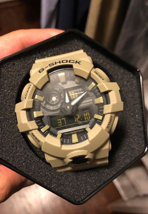 Tan army G -shock watch water resistant for Sale in Orland Park, IL