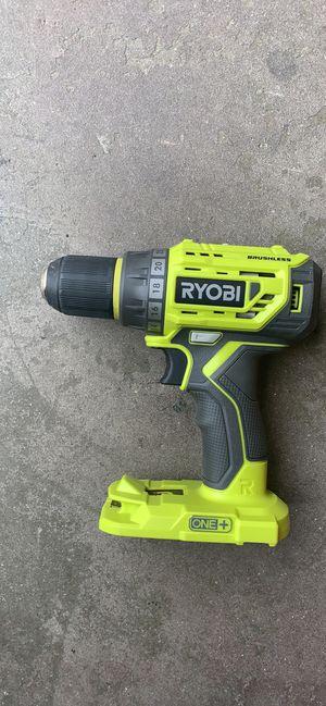 Ryobi 18v brushless hammer drill/driver for Sale in Fresno, CA