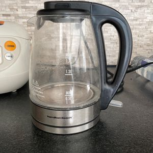 Hamilton Beach Glass Electric Tea Kettle for Sale in Irvine, CA
