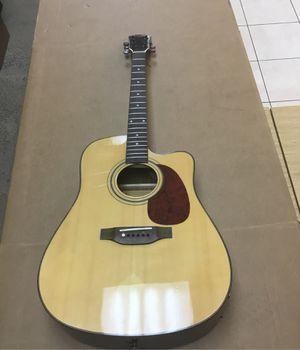 Carlos standar acoustic / electric guitar for Sale in Fort Lauderdale, FL