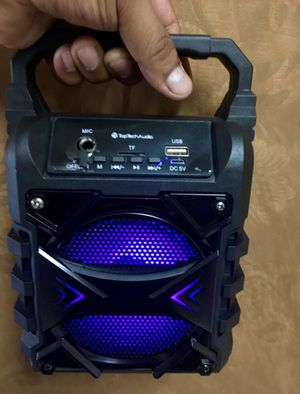 Small Mini Bluetooth Speaker 🔊 500 Watts Fm Radio for Sale in Riverside, CA
