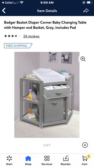 Almost new corner changing table for Sale in San Jose, CA