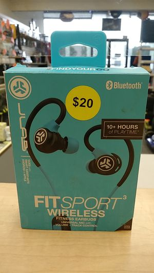 FitSport3 Wireless Fitness Earbuds by JLab Audio for Sale in Springfield, PA