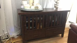Rustic style wooden cabinet for Sale in Malden, MA