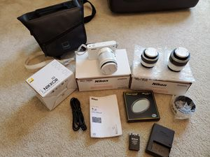 Nikon J1 10.1 MP HD Digital Camera 10-30mm 30-110mm 10-100mm CPL for Sale in Seattle, WA