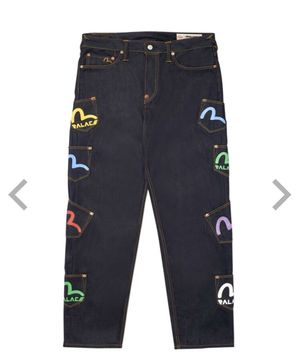 Palace x Evisu Multi pocket Jeans for Sale in Lynnwood, WA