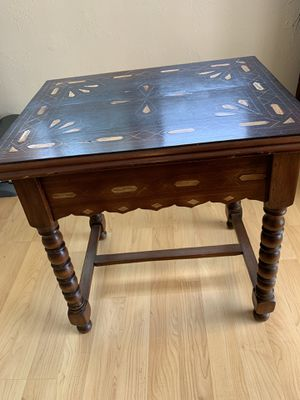Antique Scrimshaw table for Sale in San Diego, CA