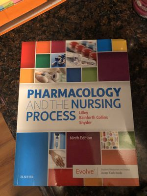 Pharmacology and the nursing process 9th edition for Sale in Fairmont, WV
