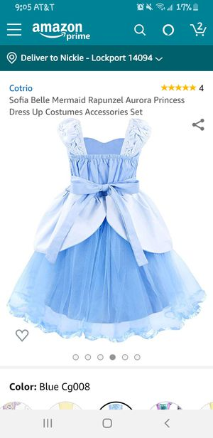 24 months- 2t Cinderella Dress costume for Sale in Lockport, NY