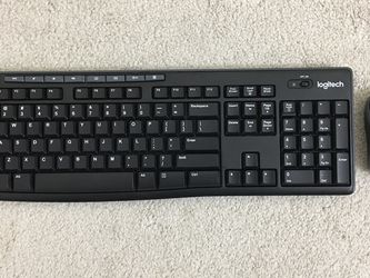 NEW LOGITECH WIRELESS KEYBOARD AND MOUSE for Sale in Washington,  DC