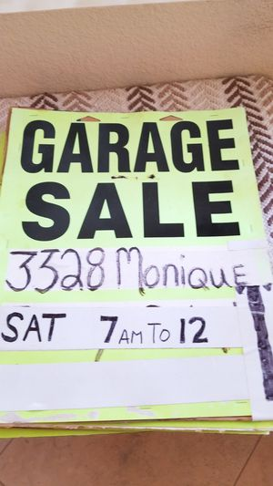 Yard sale for Sale in Lemon Grove, CA