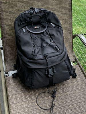 Lowepro camera backpack for Sale in Brush Prairie, WA
