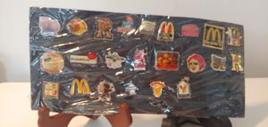 VINTAGE MCDONALD'S LAPEL PINS COLLECTION for Sale in Plant City, FL
