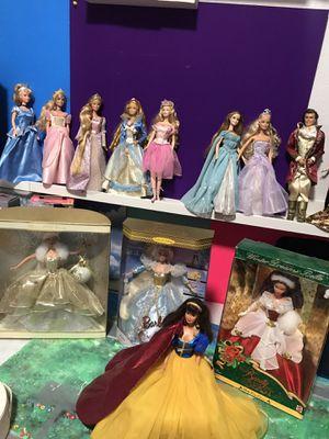 Huge Barbie Princess Lot Fancy for Sale in Garland, TX