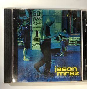 Jason Mraz ORIGINAL DEMO CD!! Before he got signed! for Sale in Poway, CA
