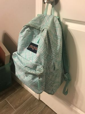 Used Jansport Backpack- Tiel and White $10 for Sale in Houston, TX
