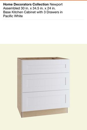 "Assembled 30"" Kitchen Cabinet - New in box for Sale in Romeoville, IL"