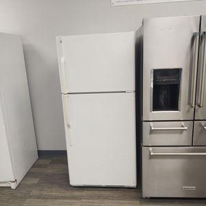 White GE Refrigerator-Warranty Included for Sale in Sacramento, CA