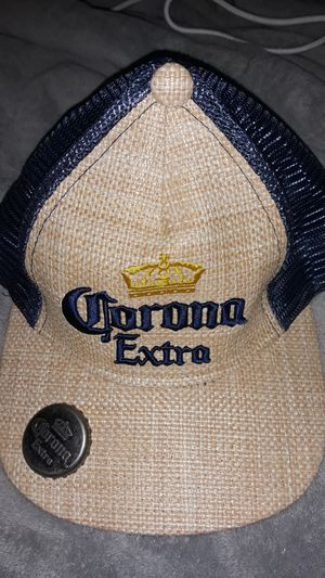 Corona Extra hat with bottle opener for Sale in Lake Worth, FL