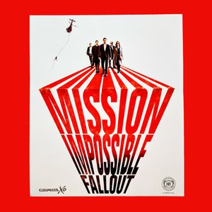 Moving | NEW Original Mission Impossible Fallout 16'' x 19'' Poster for Sale in San Jose, CA