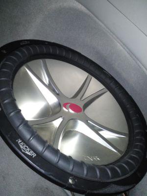Kicker CVR 15 inch subwoofer 1000 watts/500rms ******no box****** for Sale in Mesa, AZ