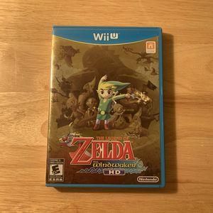 The Legend of Zelda The Windwaker HD Nintendo Wii U for Sale in Tempe, AZ