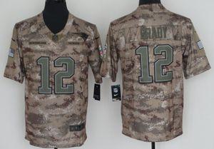 New England Patriots camo jersey #12 Brady for Sale in Edison, NJ