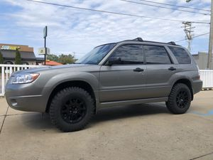 2006 Subaru Forester X sport utility. With lift kit and chip for better gas mileage. for Sale in Marietta, OH