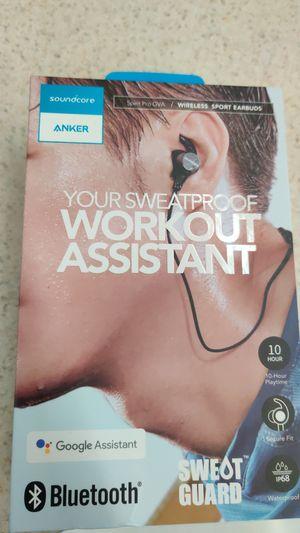 Anker wireless sport earbuds for Sale in Carol Stream, IL
