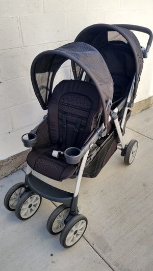 Chicco Cortina Together Double Stroller for Sale in Gardena, CA