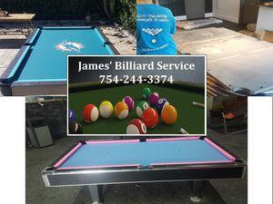 Pool Table Transport. Refelt for Sale in Miramar, FL
