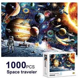 Brand New Puzzle 1000 Piece for Adults - Planets in Space Puzzle, Painting Puzzles, Puzzle Game Artwork for Adults, Personalized Gift Educational for Sale in Hayward, CA