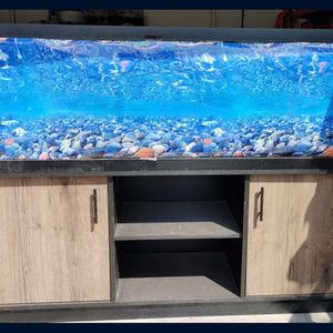125 gallon tank and stand for Sale in Tolleson, AZ