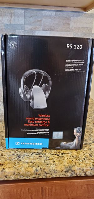 Sennheiser audio wireless headphones for Sale in Lathrup Village, MI
