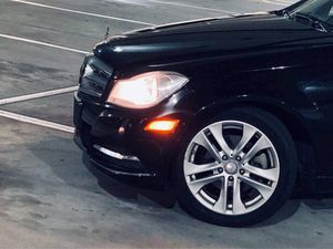 Mercedes Benz Original 17 Rims with Tires for Sale in Montclair, NJ
