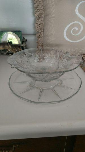 Waffle Maker/Glass Bowl & Serving Dish for Sale in Denver, CO