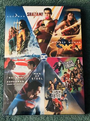 DC 7-FILM COLLECTION BLU-RAY SEALED for Sale in Countryside, IL