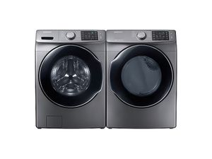 Samsung 7.5 cu Electric dryer and 7.5 cu washer. Brand new for Sale in Seattle, WA