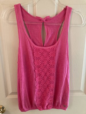 Hot Pink Hollister Tank- Size Large for Sale in Raleigh, NC