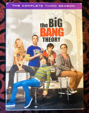 the BiG BANG THEORY TV Series The Complete Third Season for Sale in Orlando, FL