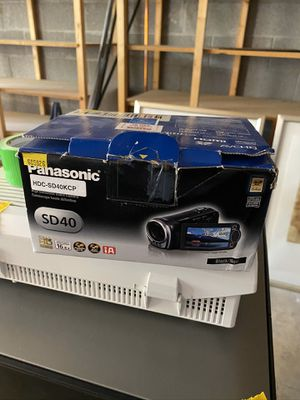 VIDEO CAMERA (Panasonic) for Sale in Scottsdale, AZ