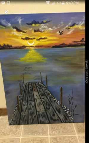 Canvas painting for Sale in Eau Claire, WI