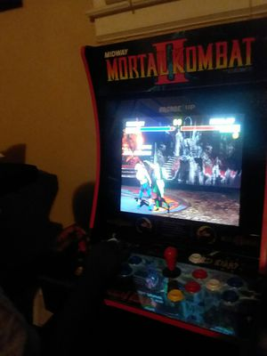 Mortal Kombat 1,2,3 Arcade1up for Sale in Southfield, MI