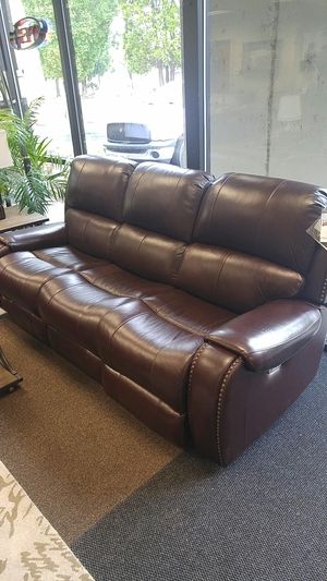 Power reclining sofa and loveseat for Sale in Portland, OR